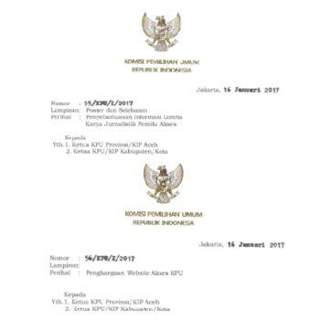 KPU Circullar Letter