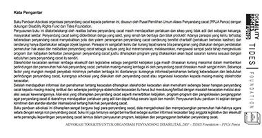 Cover Book Advokasi Toolskits