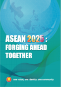 Cover Book ASEAN 2025 Forging Ahead Together