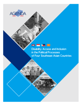 Cover Book Disability Access and Inclusion in The Political Processes of Four Southeast Asian Countries