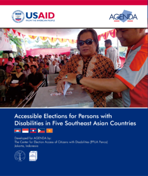Cover Accessible Elections for Persons with Disabilities in Five Southeast Asian Countries