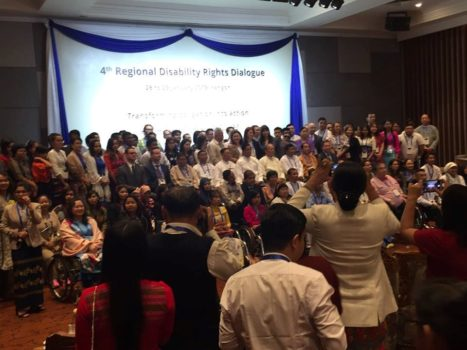 The 4th Regional Disability Rights Dialogue, Yangon Myanmar