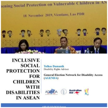 AGENDA and  the 14th ASEAN GO-NGO Forum on Social Welfare and Development