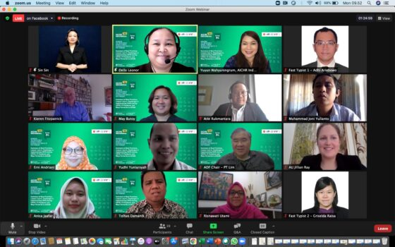 Webinar on Summary of Best Practices, Lesson Learned, Challenges in Implementing CRPD during COVID-19 Pandemic and Ways Forwards in ASEAN
