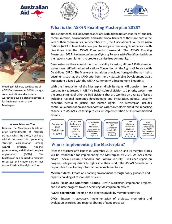 Masterplan Factsheet: General Information