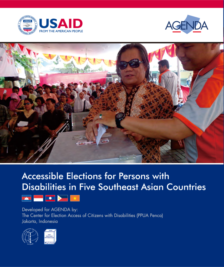Accessible Elections for Persons with Disabilities in Five Southeast Asian Countries
